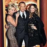 With Tom Hanks and Rita Wilson
