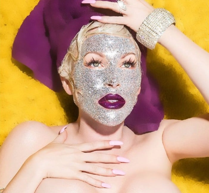 Joyce Bonelli Is Launching a Bedazzled Face Mask — Fancy, Huh?