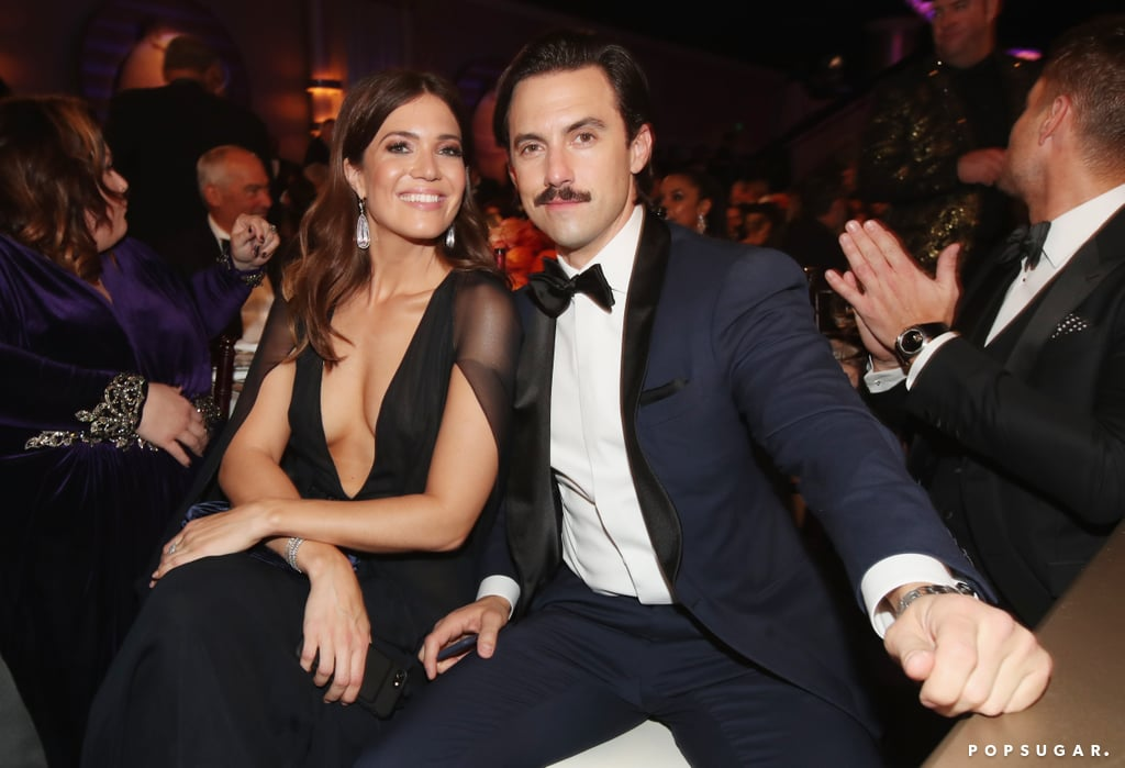 Mandy Moore and Milo Ventimiglia looked like a married couple IRL (can we say that)?