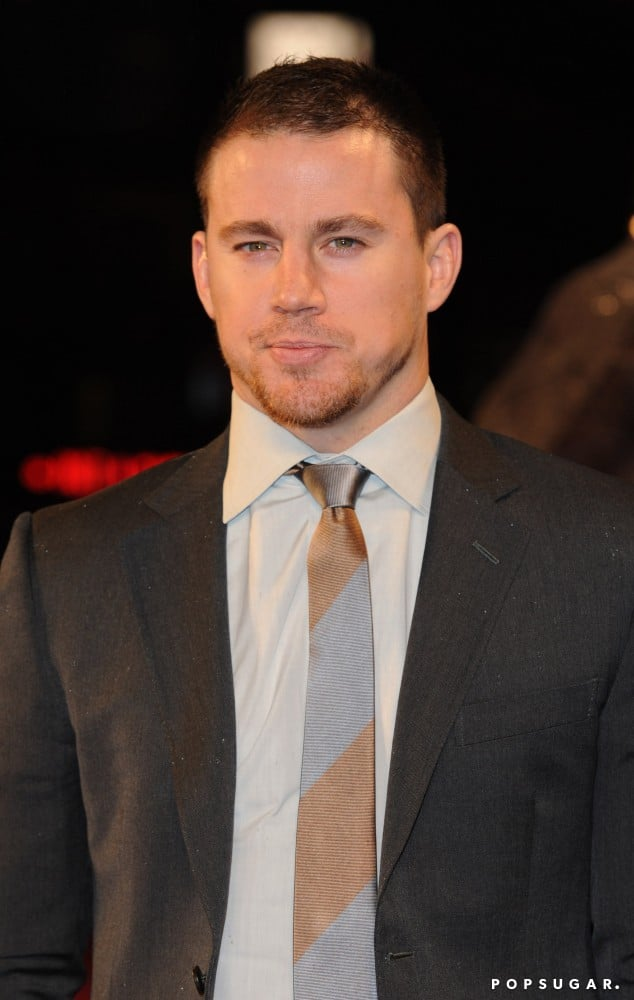 Channing Tatum wore a suit for the G.I. Joe Retaliation premiere in London.