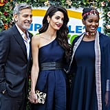 George and Amal Clooney at Postcode Lottery Charity 2019