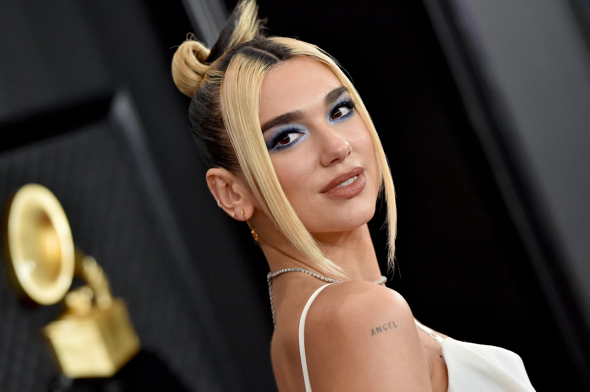 LOS ANGELES, CALIFORNIA - JANUARY 26: Dua Lipa attends the 62nd Annual GRAMMY Awards at Staples Centre on January 26, 2020 in Los Angeles, California. (Photo by Axelle/Bauer-Griffin/FilmMagic)