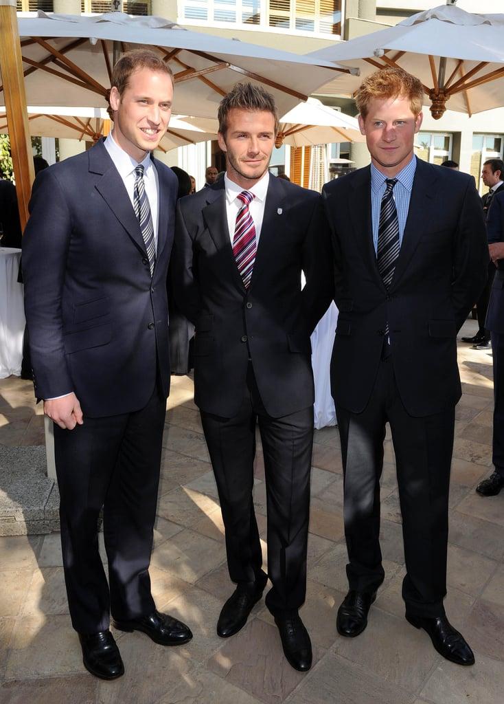 ¿Cuánto mide el Príncipe Harry / Enrique de Inglaterra? - Real height Prince-William-David-Beckham-Prince-Harry