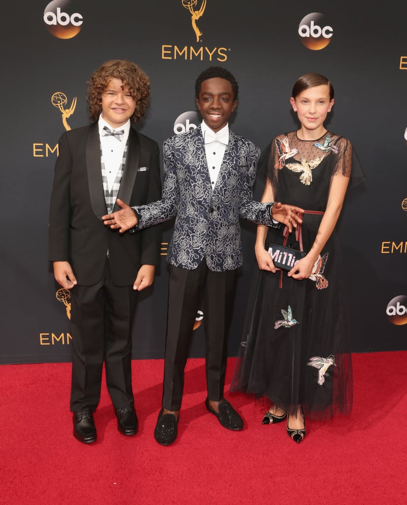 Stranger Things Cast at the Emmys 2016