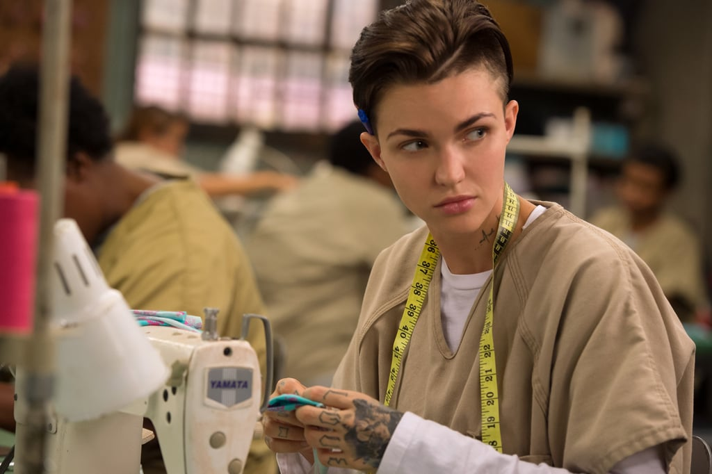 Ruby rose en orange