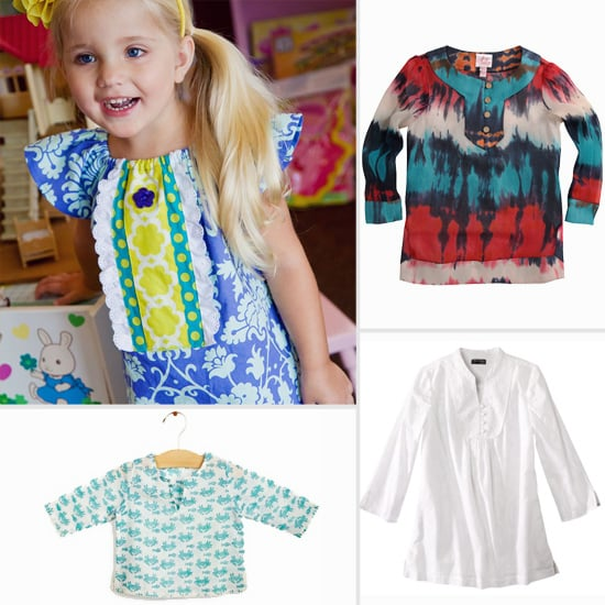 13 Chic Tunics For Your Little Girl's Day at the Beach