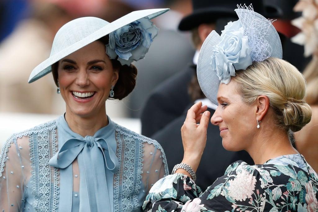 Kate Middleton Wearing Elie Saab at Royal Ascot 2019