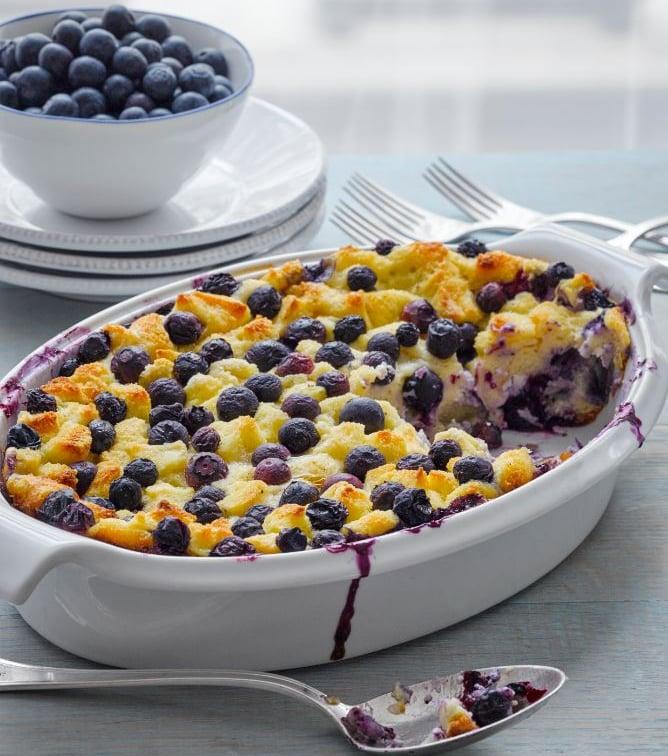 Blueberry Maple Breakfast Bake