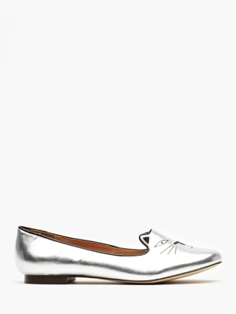 These cheeky Nasty Gal wild cat loafers ($58) would look equally adorable with skinny jeans or a sweet Spring dress.