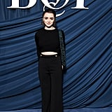 Maisie Williams at the Business of Fashion Gala During Paris Fashion Week