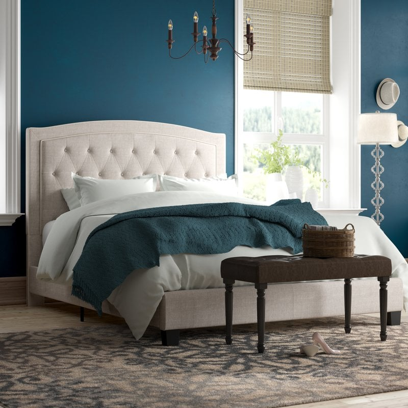 Rockaway Upholstered Panel Bed