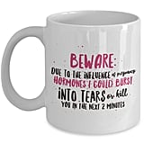 Pregnancy Warning Mug