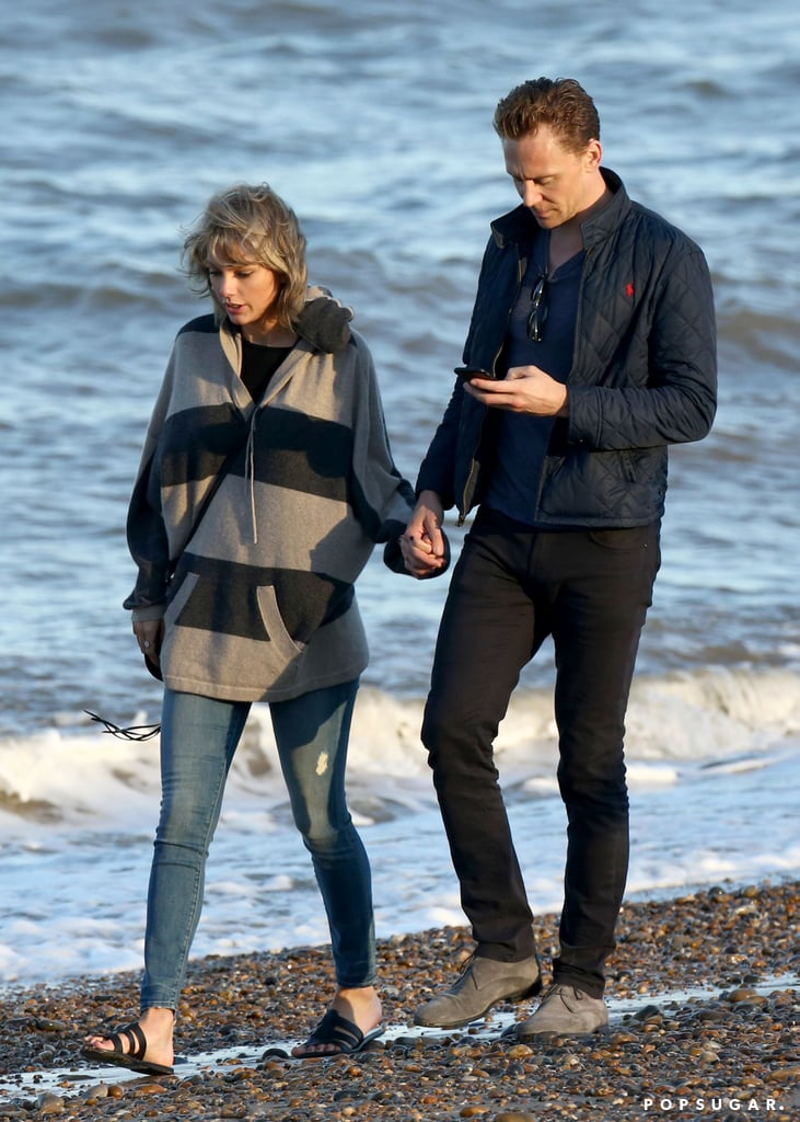 Taylor Swift and Tom Hiddleston With His Mom in the UK