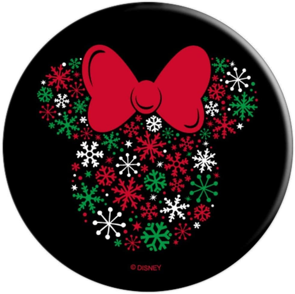 Disney Minnie Mouse Icon Holiday Snowflakes PopSockets Grip