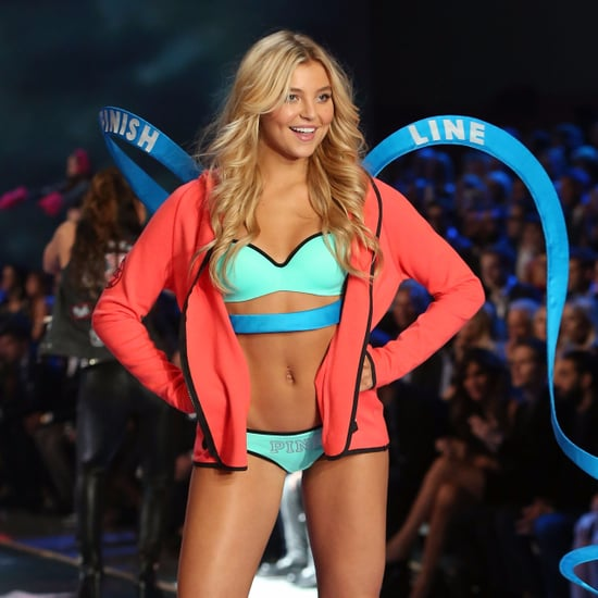 Victoria's Secret Model Pressure to Work Out
