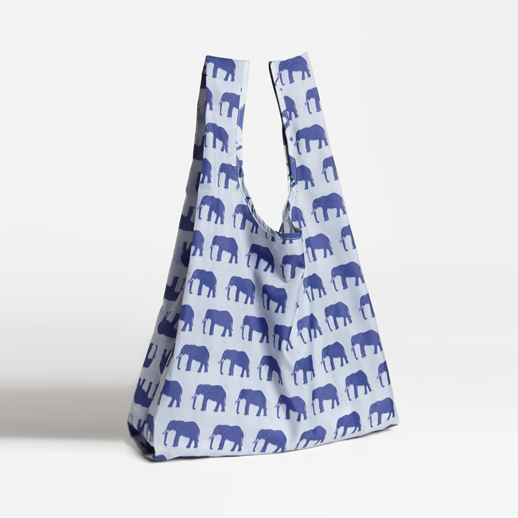 We couldn't resist putting this Baggu bag ($9) — which actually has elephants on it! — into the guide.