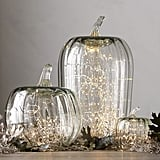 Recycled Glass Pumpkin Cloches