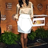 Rosario Dawson nailed sophisticated, chic, and sexy all at once.