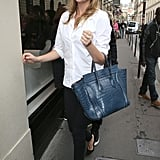 Kate Upton Pops Up in Paris For a Shopping Trip