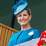 Sophie Rys-Jones, Countess of Wessex on Day 1