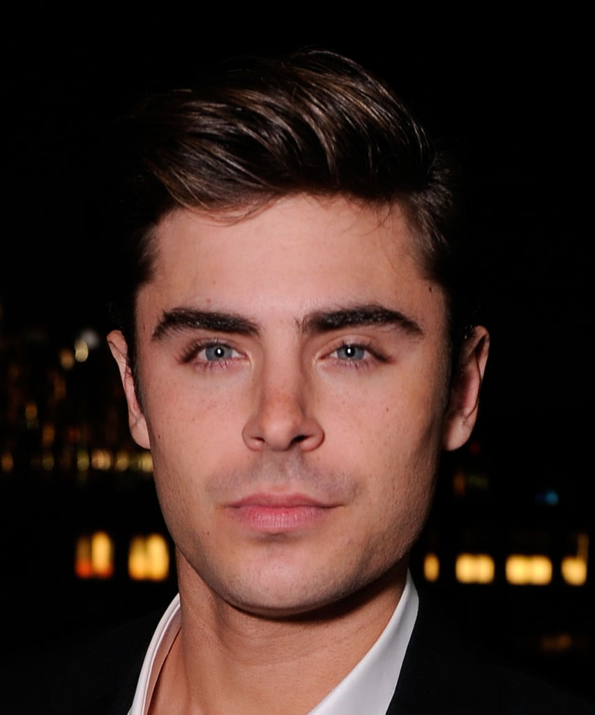 Zac Efron was in attendance at the Cinema Society and Men's Health screening of The Lucky One in NYC.