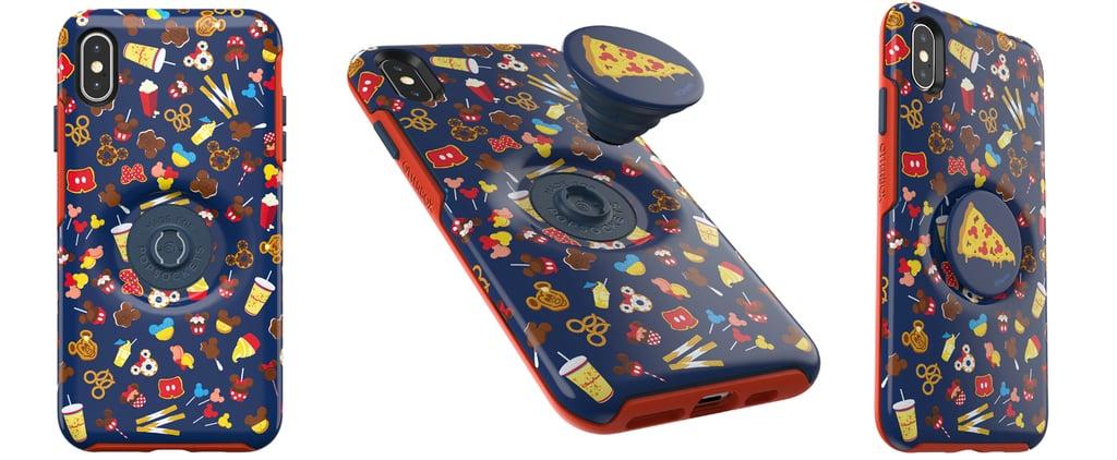 Disney Mickey Food Phone Case and Pop Socket