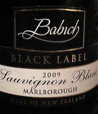 Happy Hour: 2009 Babich Marlborough Sauvignon Blanc