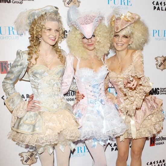 Celebrity Halloween Costume Pictures 2011 Including Kim Kardashian and Heidi Klum