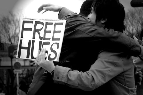 The Science of Hugging and Cuddling