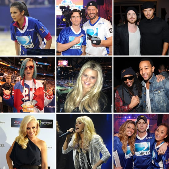 Celebrities at Super Bowl 2012 Pictures