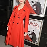 Natalie Dormer dressed up for the UK Premiere of Dior And I on Monday.