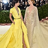Pictured: Lily Aldridge and Rosie Huntington-Whiteley