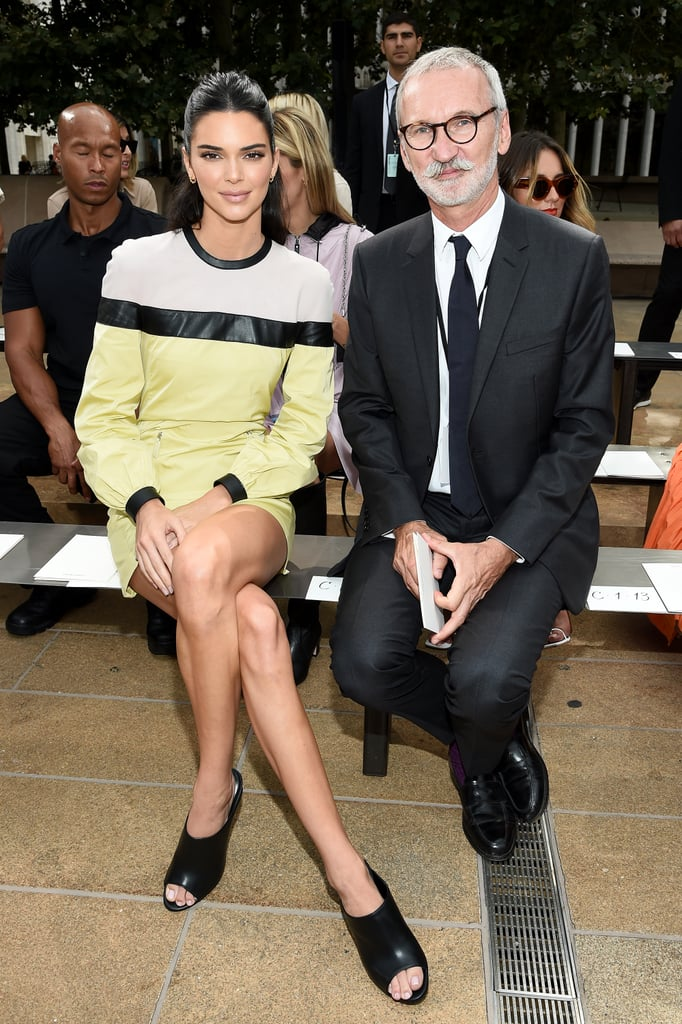 Jean Cassegrain and Kendall Jenner at Longchamp Spring 2020