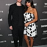 Jameela and James at a 2019 SAG Awards Party