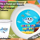 Baby Shark Plates and Cups
