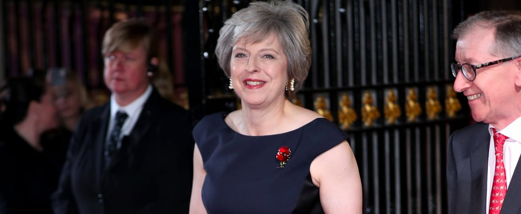 Prime Minster Theresa May Has a Style Mantra For All Power Women