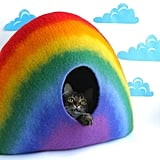 MeowFelt Rainbow Cat Bed