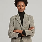 Ralph Lauren x Friends Herringbone Wool-Blend Blazer