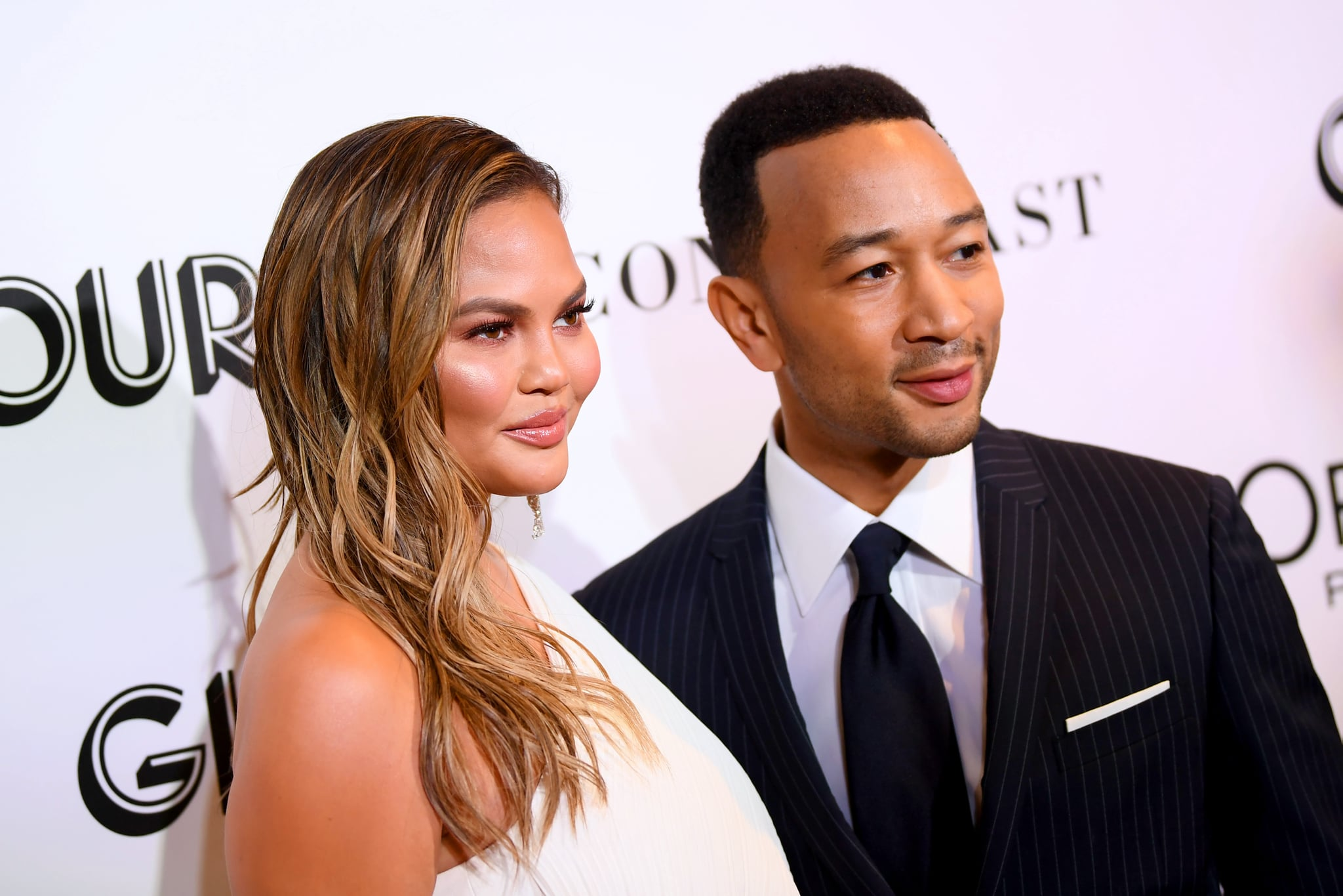 NEW YORK, NY - NOVEMBER 12:  Chrissy Teigen and John Legend attend the 2018 Glamour Women Of The Year Awards: Women Rise on November 12, 2018 in New York City.  (Photo by Dimitrios Kambouris/Getty Images for Glamour)