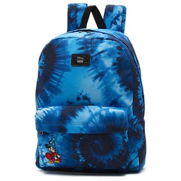 Disney x Vans Old Skool Backpack in Mickey Mouse Fantasia Tie Dye