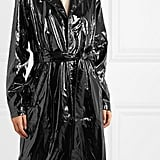 Rains Glossed-PU Trench Coat ($253.33)