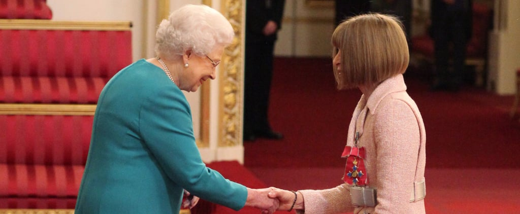 Vogue's Reigning Queen Is Honoured by the Actual Freaking Queen of England