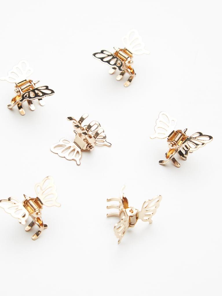 Mini Butterfly Clips ($14)