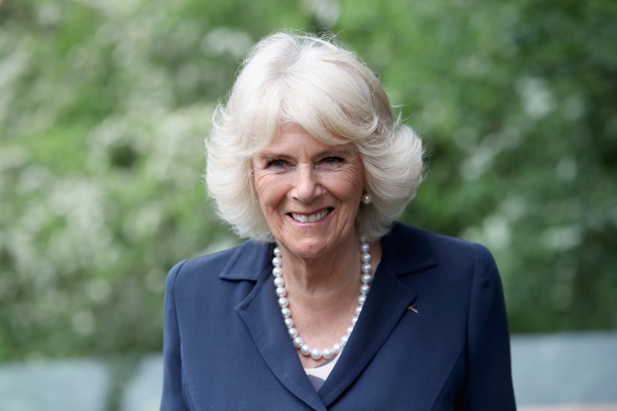 OXFORD, ENGLAND - MAY 16:  Camilla, Duchess of Cornwall visits Maggie's Oxford to see how the Centre supports people with cancer on May 16, 2017 in Oxford, England. During her visit HRH will meet people living with cancer and observe Maggie?s programme of support in action including a Talking Heads session and a yoga class.  (Photo by Chris Jackson/Getty Images)