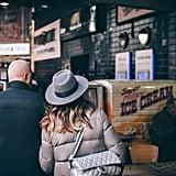 Explore a Winter festival or market.