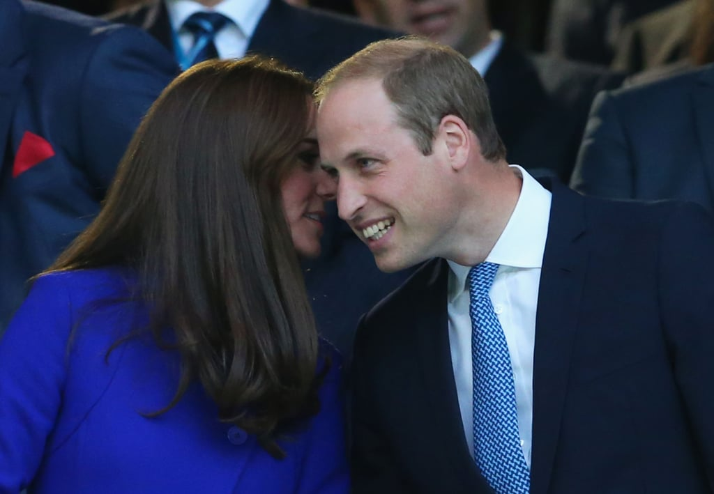 The Duke And Duchess Of Cambridge Bring Their Biggest Smiles To The