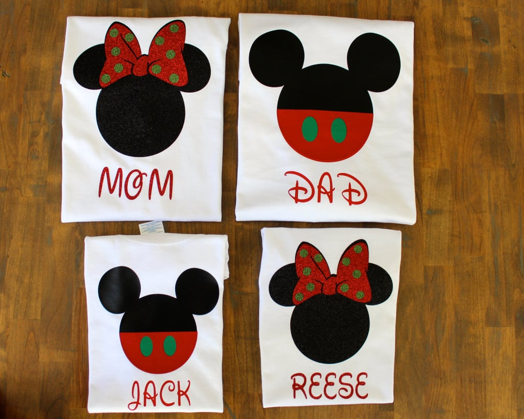 Matching Family Disney Christmas Shirts | Matching Family Disney ...