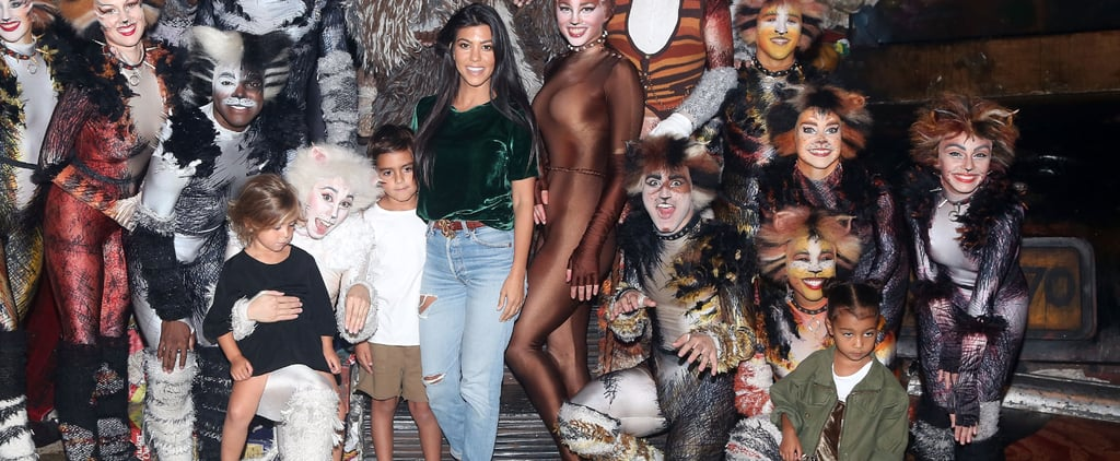 Kourtney Kardashian Brings the Kids to Broadway's Cats, but the Little Ones Are Less Than Enthused