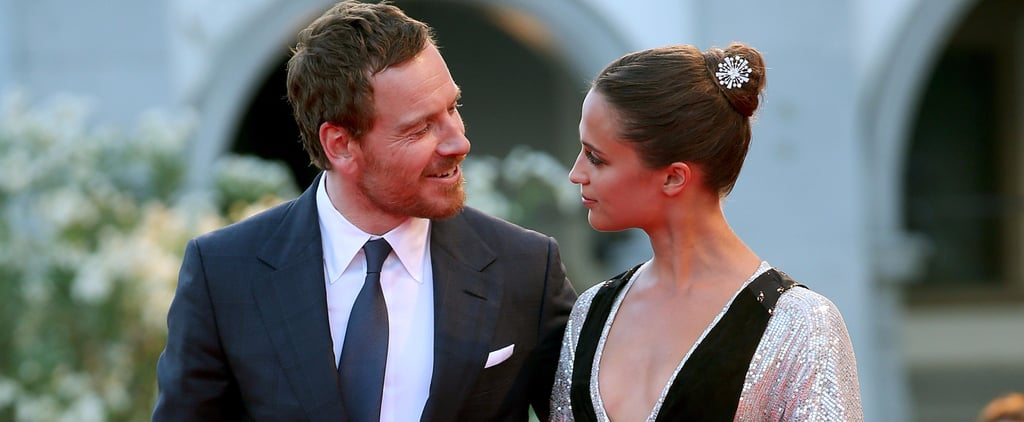 Michael Fassbender and Alicia Vikander's Cutest Couple Moments — on and Off Screen