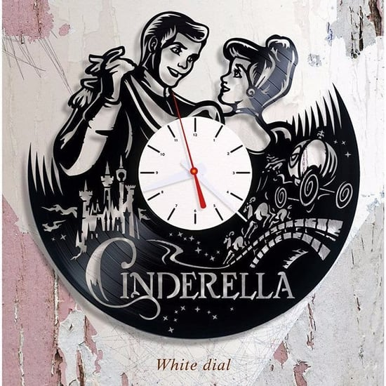 Vinyl Disney Clocks on Etsy